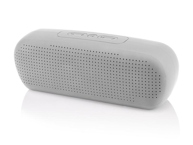 BLUETOOTH BLOW REPRODUKTOR MP3 FM RADIO USB, šedý